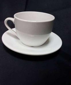 קפה עגול ידית מעוגלת