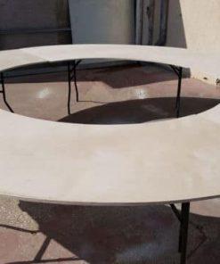שולחן אבירים קוטר 3.6