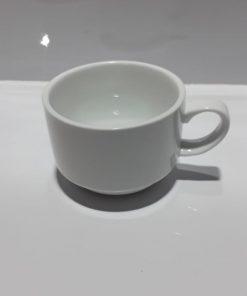 כוס קפה חלבי דגם שאנל